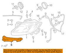 MAZDA OEM 13-15 CX-9 Headlight Head Light Lamp-Lower Bracket Left TK2150161