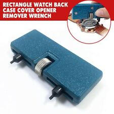 Rectangle Adjustable Watch Back Case Cover Opener Remover Wrench Repair Tool Kit