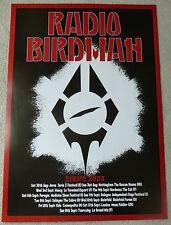 Radio Birdman - Europe 2003    SCARCE MUSIC TOUR POSTER