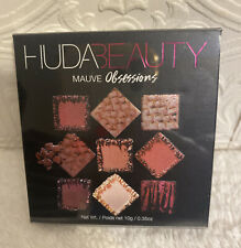 HUDA BEAUTY MAUVE Obsessions Eyeshadow Palette ~ FULL SIZE ~ NEW IN PACKAGING!