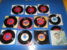 60's Records 45 RPM ROGER MILLER Lot Of 11 Different Records / 1 Picture Sleeve