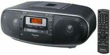 Panasonic RX-D55GC-K Boombox High Power MP3 CD AM/ FM Radio Cassette Recorder
