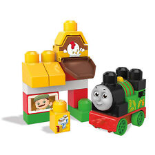 * NEW * Mega Bloks Thomas & Friends Percy At The Farm Train Bag (#clarkstc)
