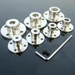 Rigid Flange Coupling Fixed Bearing Seat Motor Guide Metal Shaft Coupler Support
