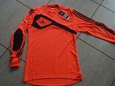 Adidas neue Torwart Trikot Größe 128cm  Farbe orange/schwarz Wunschflock möglich