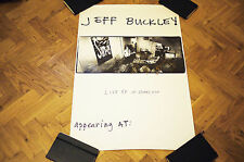 "Jeff Buckley - *SIGNED* 36"" X 24"" Live at Sin-e poster with doodles."