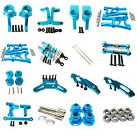 Aluminum Alloy CNC metal Upgrade DIY parts Blue Fit For 1/10 HPI WR8_flux Rc Car