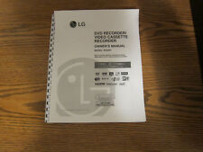 LG RC897T operating instructions user owner manual