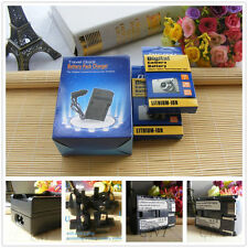 2 x 1600mAh BP511 BP-511A Battery + Charger For Canon EOS 20D 40D 50D 300D