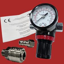 """1/4 """" professionale Mini Regolatore di pressione con Manometro Luft-druck-regler"""