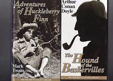 The Children's Golden Library Huckleberry Finn & Hound of the Baskervilles