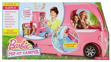 Barbie Pop-Up Camper Vehicle  (Free Express 48 Shipping)