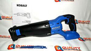 New Kobalt KRS 1824B-03 24V Brushless Reciprocating Saw - Bare Tool