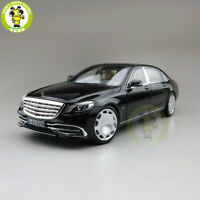 1/18 Norev Benz Maybach S650 2018 Diecast Model Car Toys Boys Girls Gifts Black
