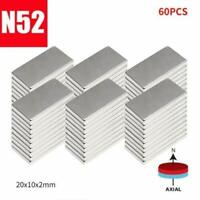 60×N52 Super Strong Magnets Block Rare Earth Cuboid Neodymium Strong Magnet AU