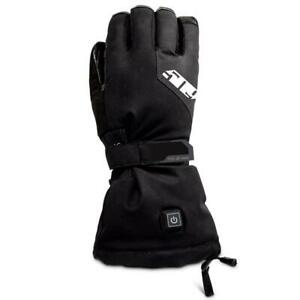 509 Winter Snowmobile Black BACKCOUNTRY IGNITE Heated GLOVES - L - XL - 2XL- NEW