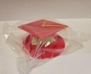 Graduation Cake Topper Red Cap Cake Accents NIP