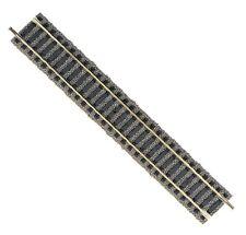 BINARIO DRITTO CON MASSICCIATA FLEICHMANN PROFI-GLEIS 6101 200 mm PER PLASTICI