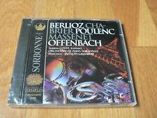 Grimbert - Berlioz - Chabrier - Poulenc - Massenet - Musique en Sorbonne CD NEUF
