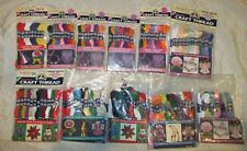 LARGE LOT OF DMC HAND EMBROIDERY NON- DIVISIBLE CRAFT  THREAD ~ 11 PACKAGES