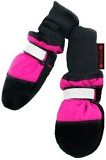"""New listing Fleece Lined Muttluks Pink Dog Boots Xlarge 4.25"""" - 4.75"""""""