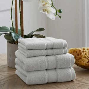 Loft by Loftex Luxe 4 piece Hand & Washcloth Towel Set, 100% Cotton
