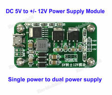 DC-DC 5V to ±12V 1A Micro USB Step-up / down Dual Power Supply Module for OP Amp