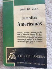Lope de Vega Comedias Americanas Editorial Poseidón Buenos Aires copywriter 1943