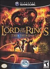 Lord of the Rings The Third Age - Gamecube Nintendo, Disc, Case and Manual, Very