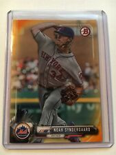 Noah Syndergaard Bowman Baseball 2017 Orange Paper Mets 24/25