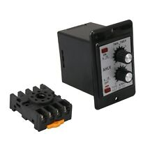 Dc 12v Delay Timer Repeat Cycle Time Relay Range 0 6s Panel Installation