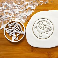 Realistic Crocodile Skink cookie cutter - Tropical Rainforest zoo birthday party