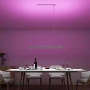lampadario xiaomi smart 90cm abilight alexa,gamma colori app moderna design wifi
