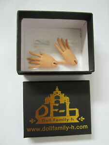 New in Box Doll Family-H Jointed MSD Hands,Tanned Resin,Legit,1/4 BJD,DF-H