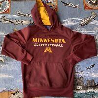 Men's Small Maroon Red Minnesota Golden Gophers NCAA Hoodie Sweatshirt
