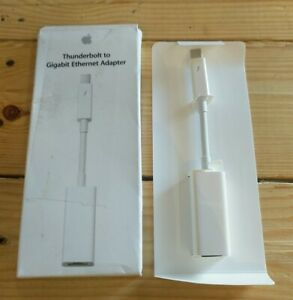 GENUINE Apple A1433 Thunderbolt to Gigabit Ethernet Adapter MD463LL/A BOX DMG