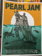 Pearl Jam St. Louis, Mo 2020 Signed A/P by Ian Williams