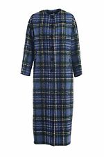NWT Love Moschino Long Tweed Plaid Coat Size IT 44 / US 8