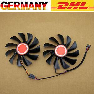Graphics Lüfter Cooler 95MM Dual Fan Kühler für XFX RX580 RX584 RX588 RX590 EDE