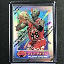 1994-95 Topps Finest MICHAEL JORDAN Silver Refractor #331 - Coating On (D)