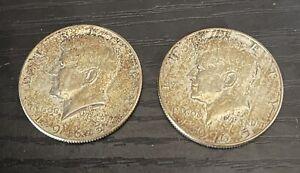 US Kennedy Half Dollars  X3  1965 Coins 40% SILVER. SENT UK POST FREE