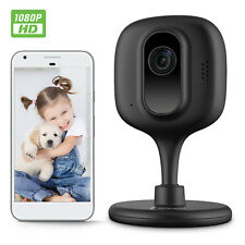 Zencam Wifi Camera 1080P Indoor Baby Pet Cam Wireless IP Security E2B Black