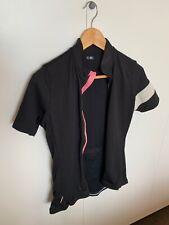 RAPHA Womens Merino Wool Blend Short Sleeve Full Zip Cycling Brevet Jersey Top M