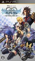 USED PSP Kingdom Hearts: Birth by Sleep Final Mix game soft Japan import