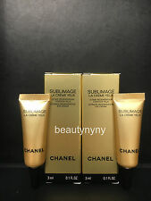 2 x Reformulated for 2017 Chanel Sublimage La Creme Yeux Eye Cream 3ml each