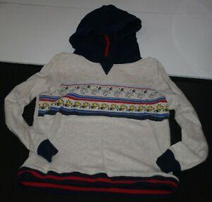 Used Hanna Andersson Boys 150 12 year Sweatshirt Top Snoopy Woodstock Peanuts