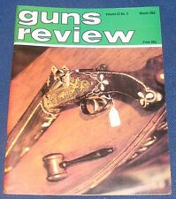 GUNS REVIEW MAGAZINE MARCH 1982 - A CUSTOMISED COLT