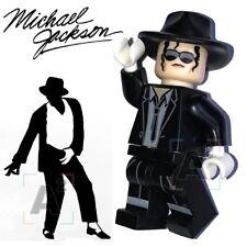 Michael Jackson Maßgeschneidert Minifigur Passt Lego Toy WM469