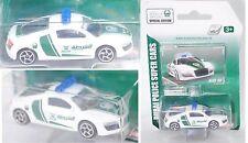 Majorette 212057182047 Audi R8 4.2 FSI POLICE Dubai Edition ca. 1:64