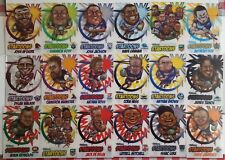 2018 NRL Traders Startoons (ST 1 - 18) COMPLETE SET (18 Cards)